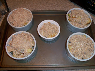 Mini Apple Cobblers