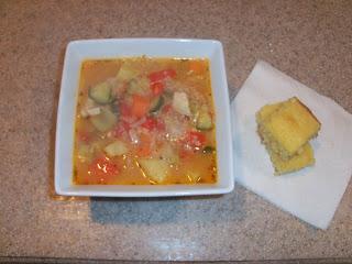Chicken Vegetable Stew with Quinoa