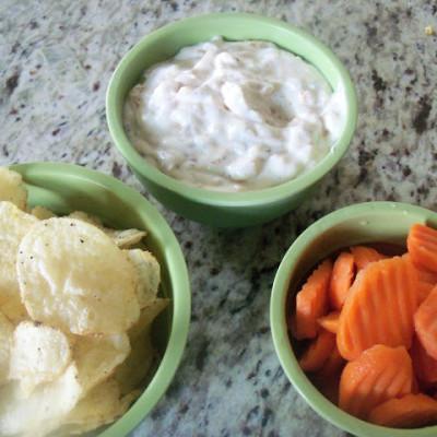 Carmelized Onion Yogurt Dip
