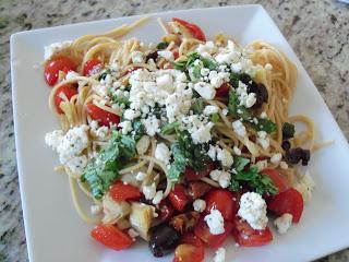 Mediterranean Pasta Toss