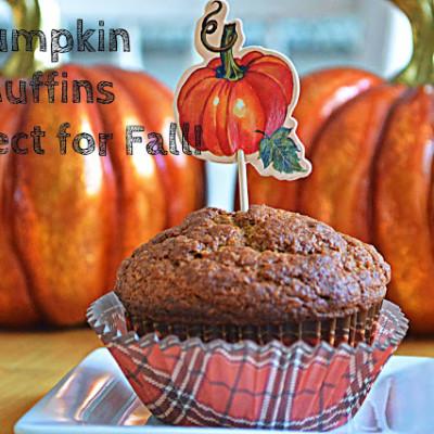 Fall's Most Perfect Pumpkin Muffin