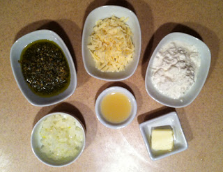 Easy Parmesan Pesto Dip