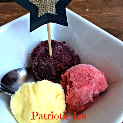 Fourth Of July Treat: Patriotic Ice Cream