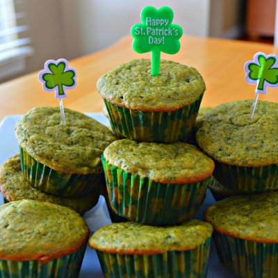 Green Muffins {Perfect for Halloween!}