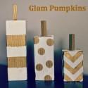 Halloween Glam Pumpkins