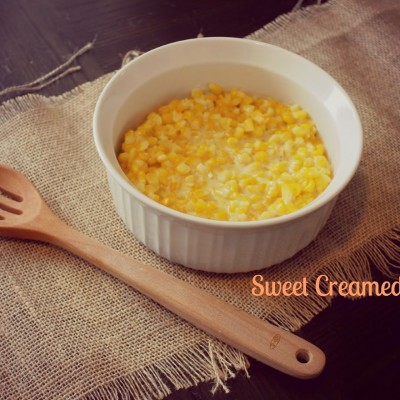 Thanksgiving Sides: Sweet Creamed Corn