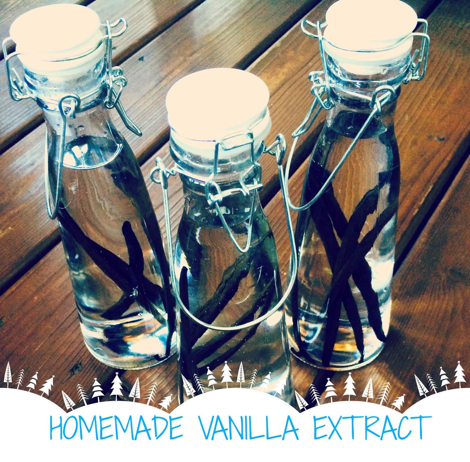 Holiday Gifts: Homemade Vanilla Extract