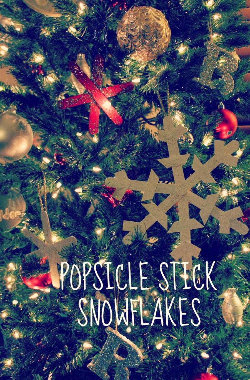 snowflakes label