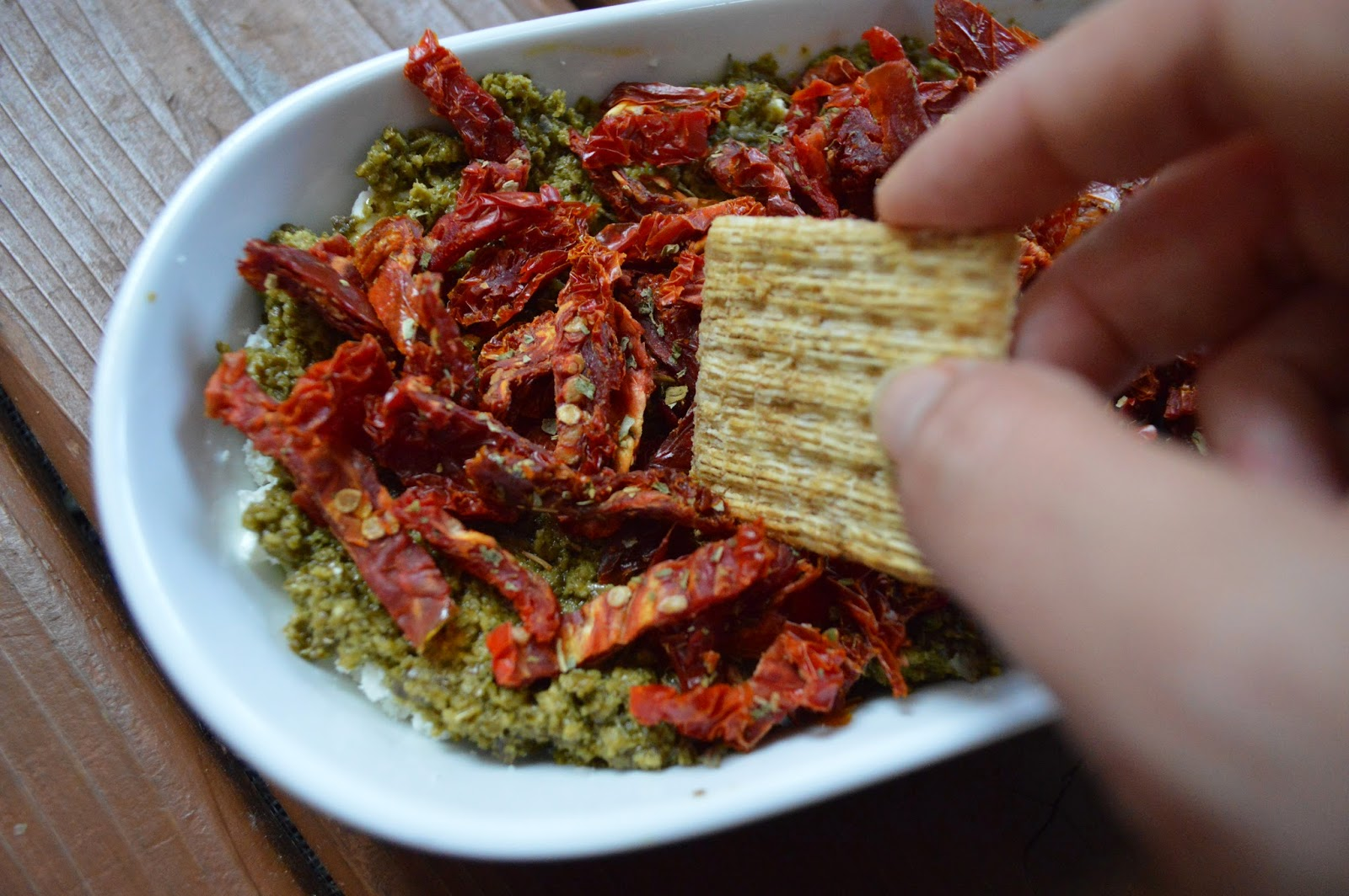 recipe: sun dried tomato feta dip [20]
