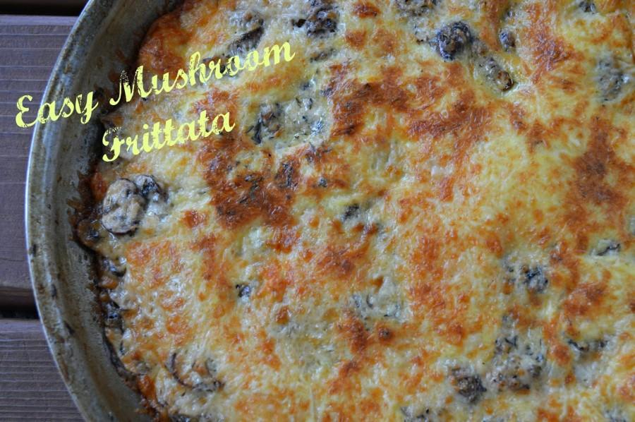 mushroom fritata