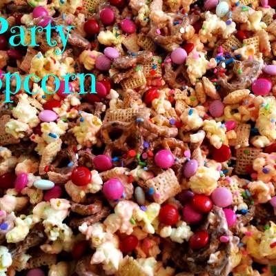 Easy Party Popcorn