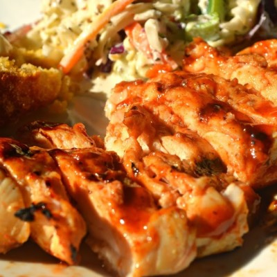 Perfectly Grilled Barbecue Chicken