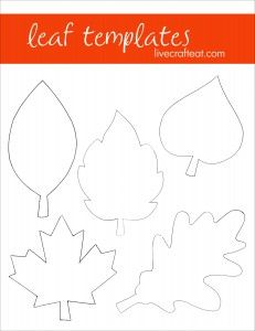 Use for the Thankful Tree: printable leaf patterns Each child could get one sheet's worth of leaves for their branch!: