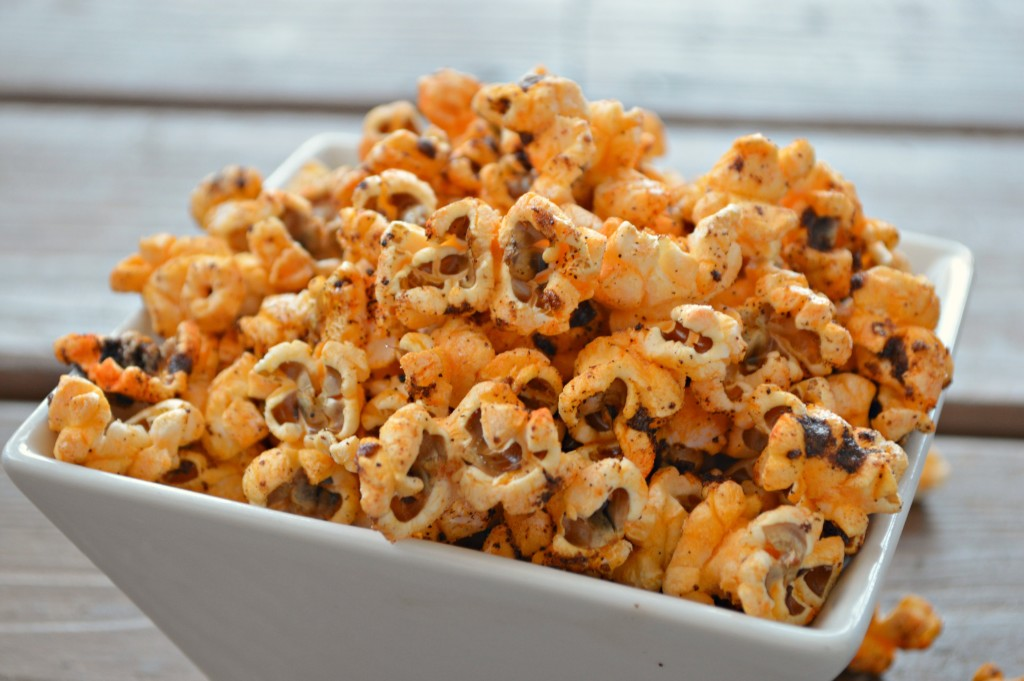 National Popcorn Day! Sweet and Spicy BBQ Popcorn - Girl and Her ...