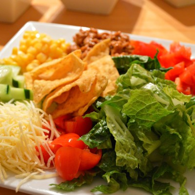 Taco Salad {Easy Weeknight Dinner}