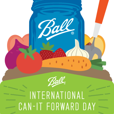 Ball Can It Forward Day! Recipe + Cool Announcements + A Giveaway!