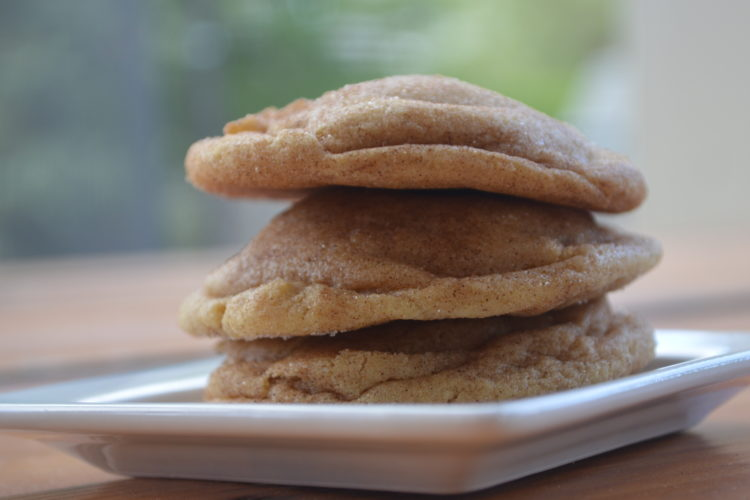 Soft and Fluffy Snickerdoodle Cookies