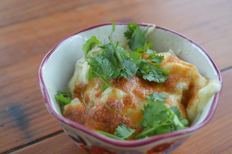 Creamy Tomatillo Chicken and Rice