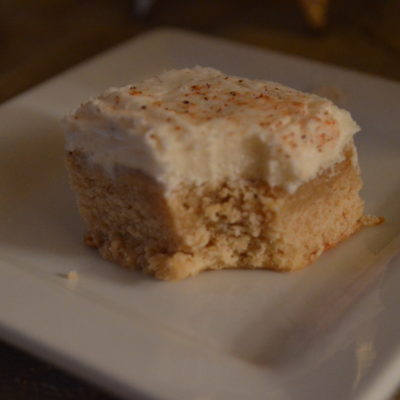 Eggnog Cookie Bars